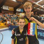Patrick en Jurre presteren uitsteken bij een uiterst warme NJM finale